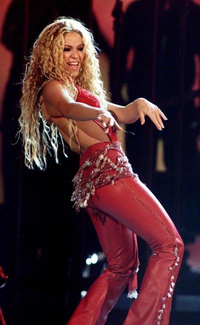 Shakira kiedyś
