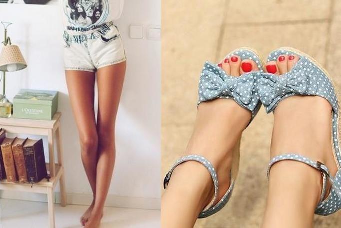 kobiece stopy