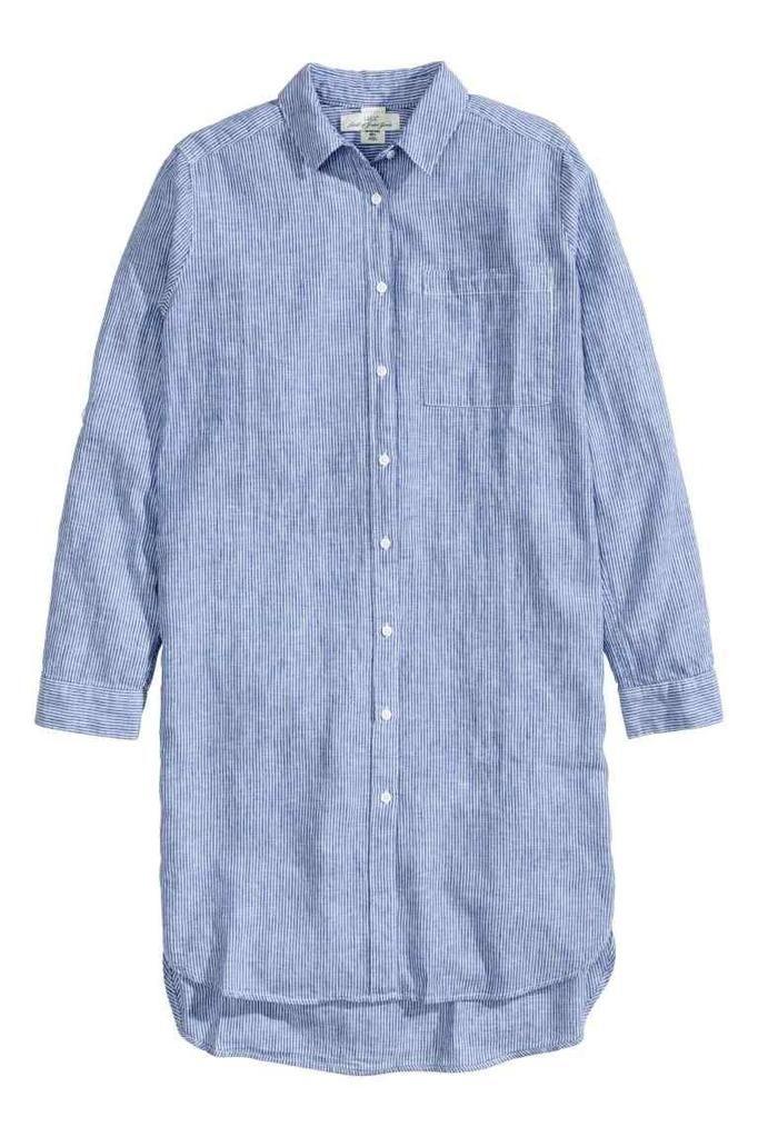 koszulowa sukienka H&M, ok. 129zł