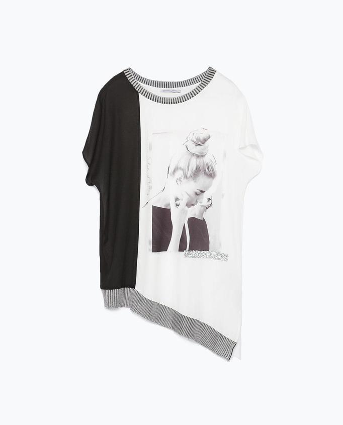 t-shirt Zara, ok. 99zł