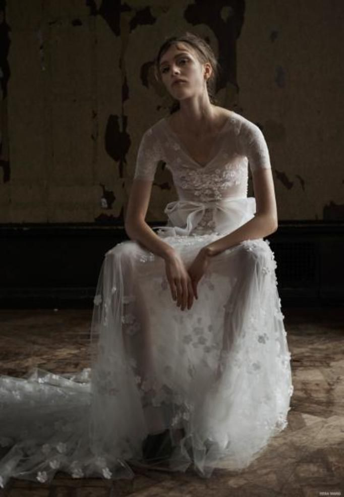 Vera Wang bridal Wiosna 2016
