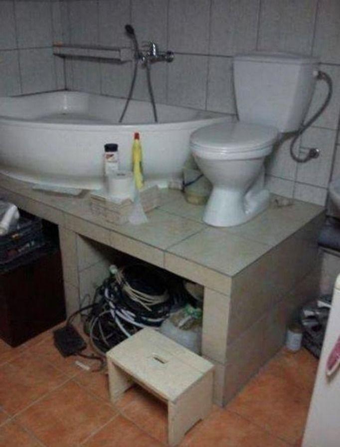 brzydka łazienka