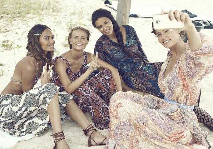 Modelki dla H&M 2015