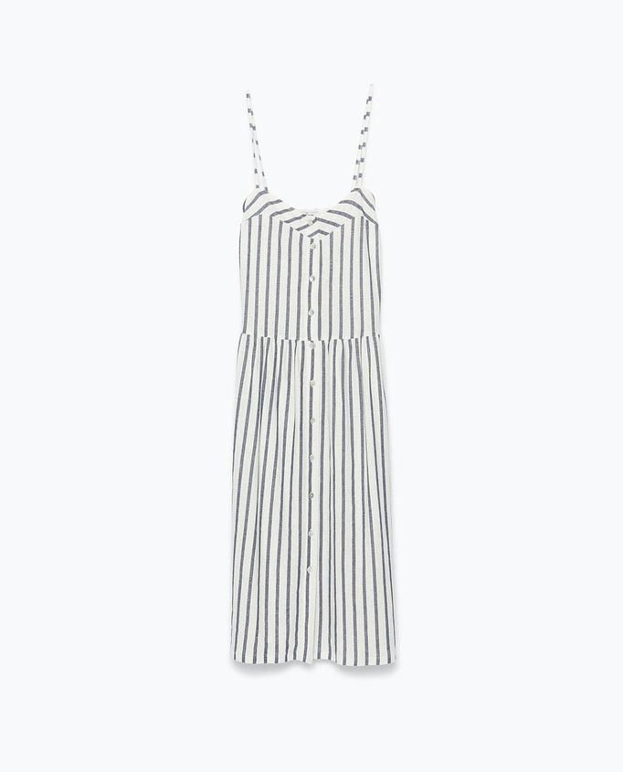 sukienka w paski Zara, ok. 99zł