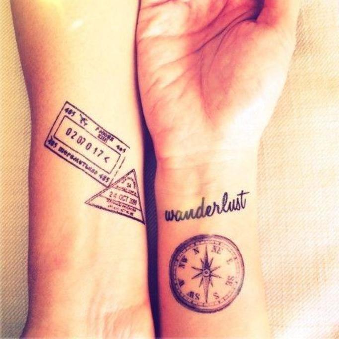Kochasz Podróżować Te Tatuaże Będą Dla Ciebie Idealne Papilot