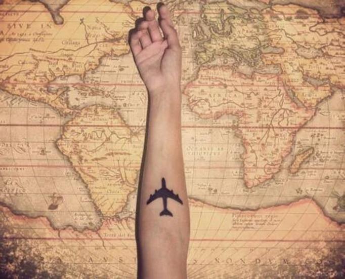 tatuaż podróże