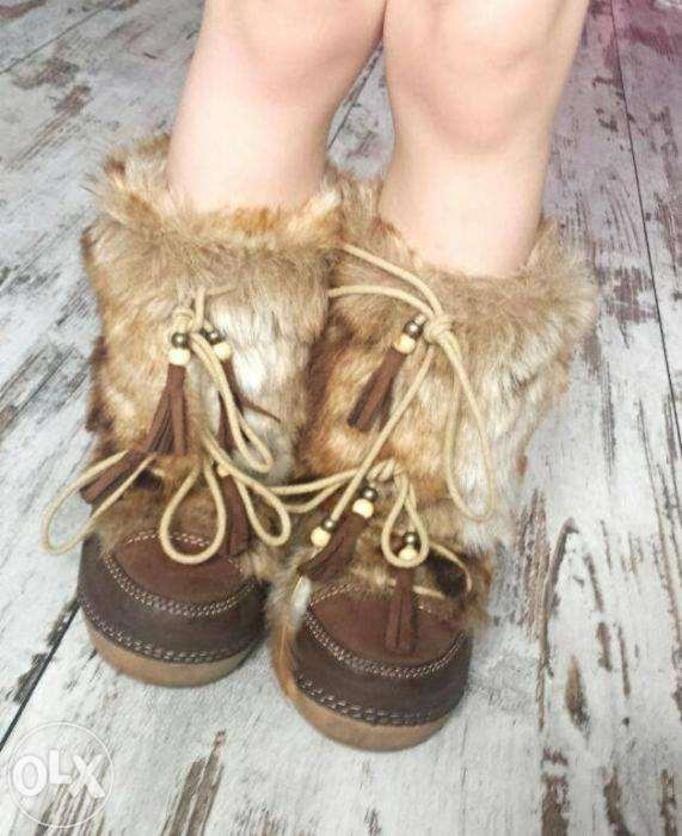 indiańskie buty
