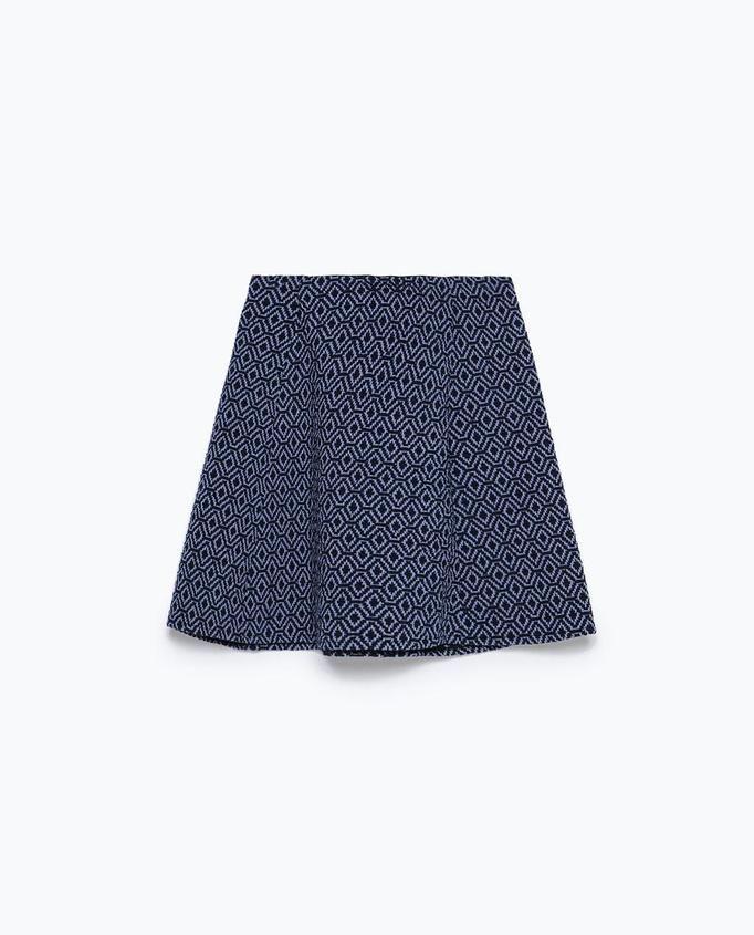spódnica mini Zara, ok. 69zł
