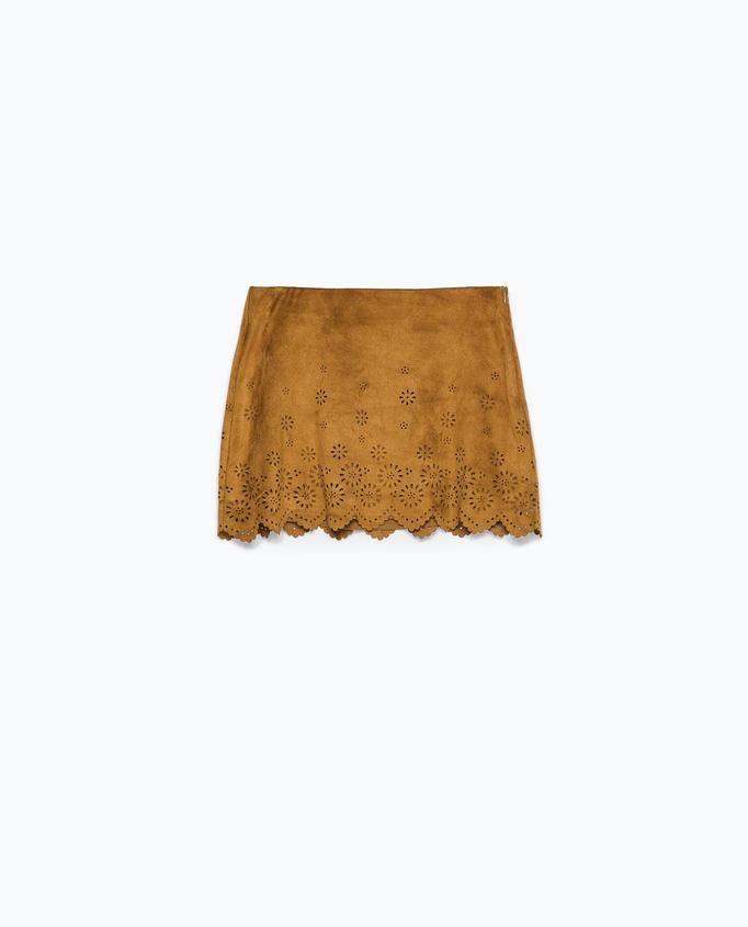 spódnica mini Zara, ok. 99zł