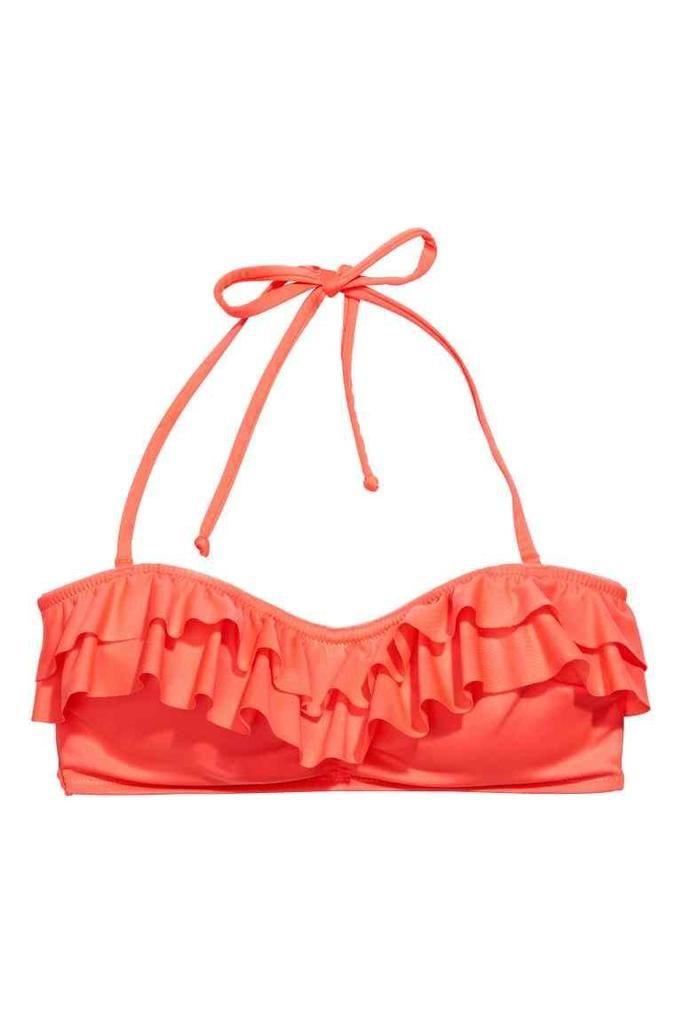kostium kąpielowy (góra) H&M, ok. 29zł