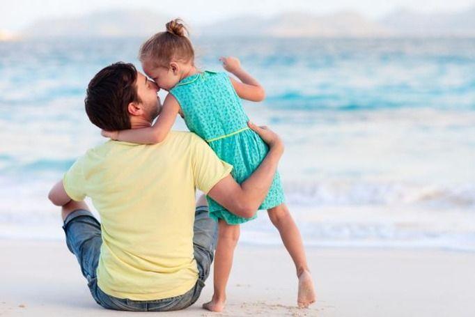 ojciec i córka