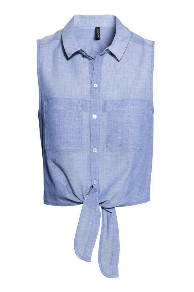 wiązana koszula H&M, ok. 59zł