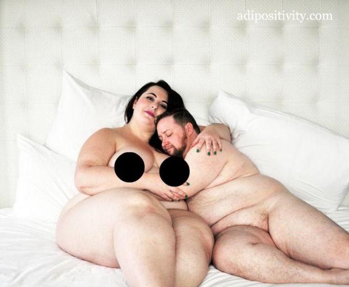 seks otyłych