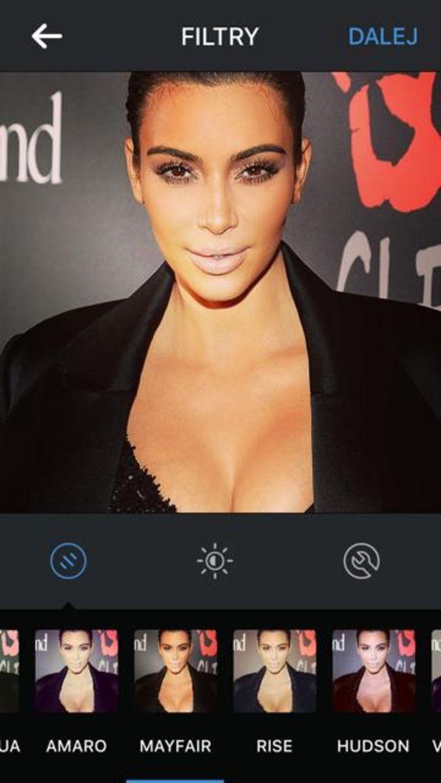 filtr na instagramie