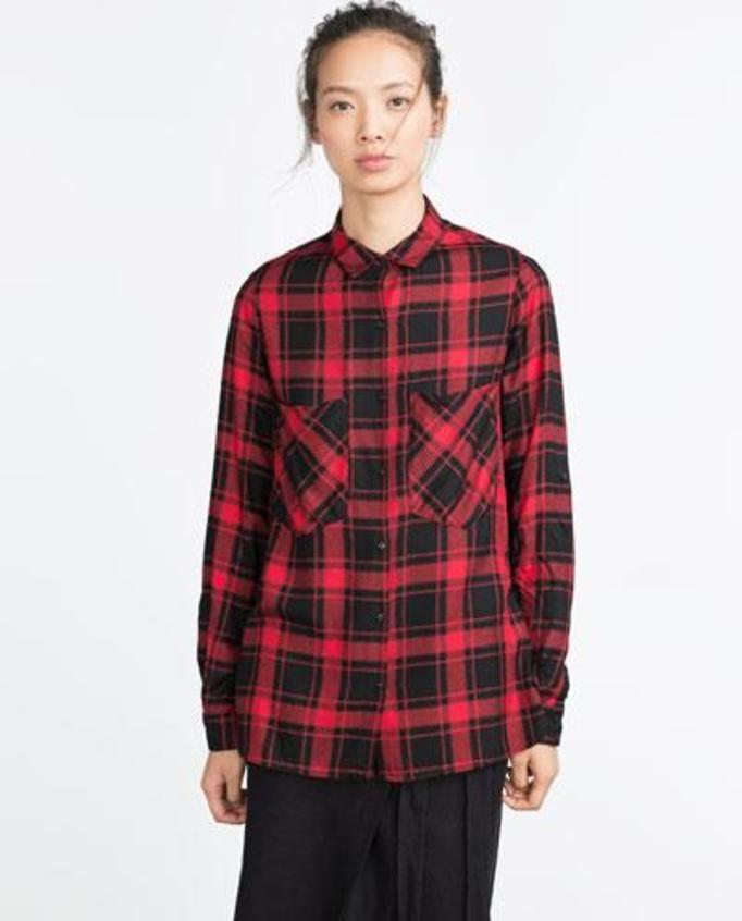 koszule w kratę