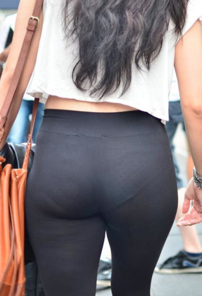 visible panty line