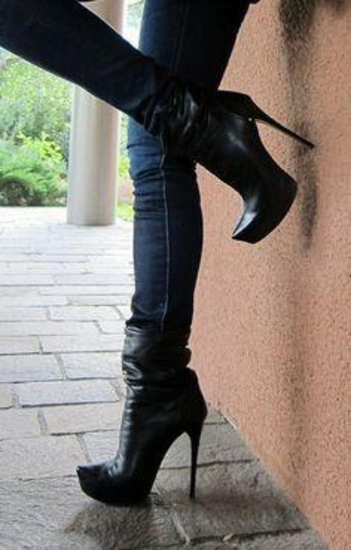 buty na obcasie