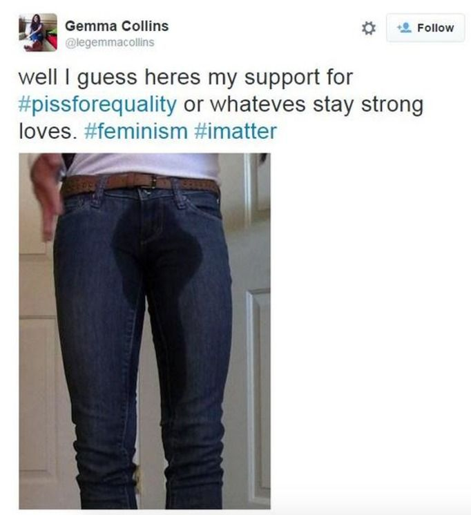#pissforequality