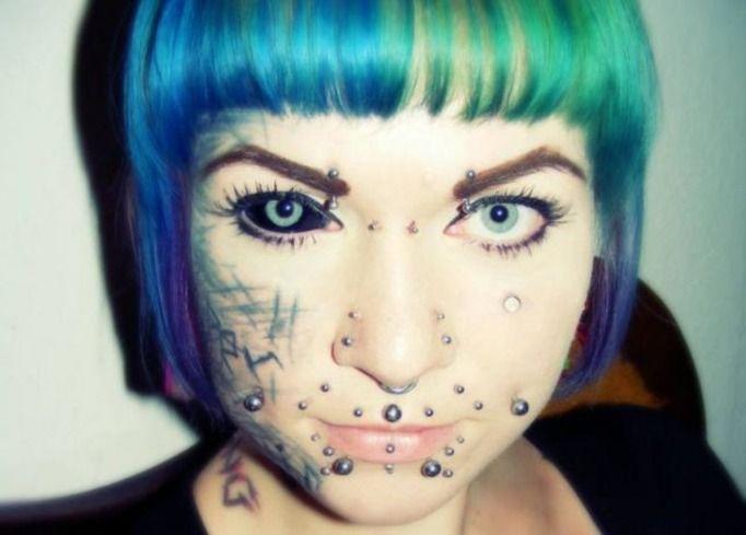 tatuaż oczu