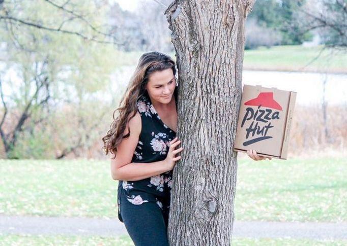 zaręczyny z pizzą