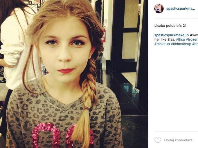 dziecięcy makijaż