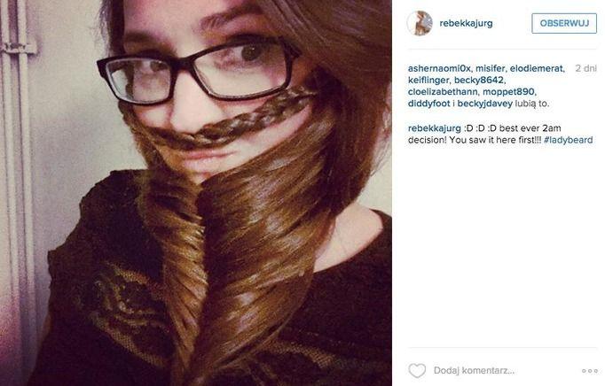 kobieta z brodą