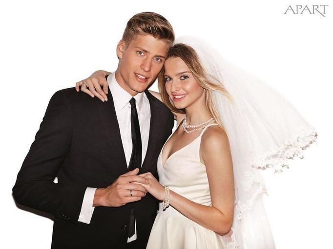 Ślubna sesja Apart