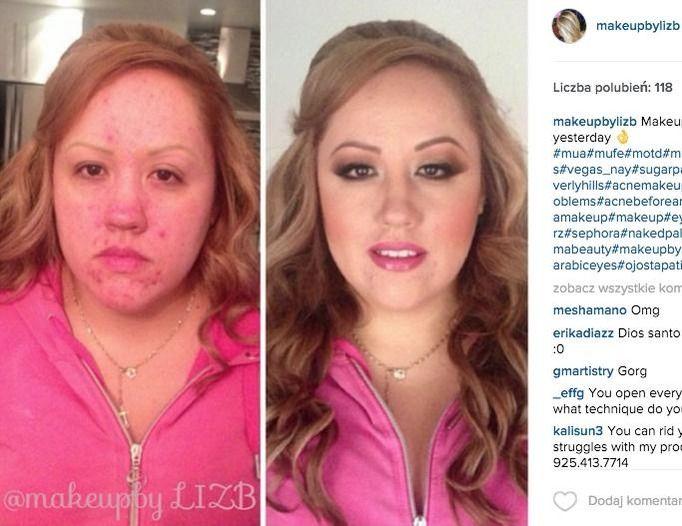 makijaż cera trądzikowa