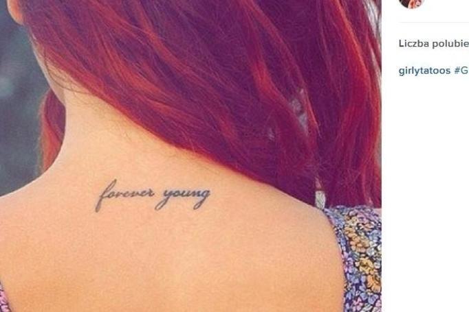 10 Bardzo Dziewczęcych Tatuaży Napisy Miniaturowe Rysunki