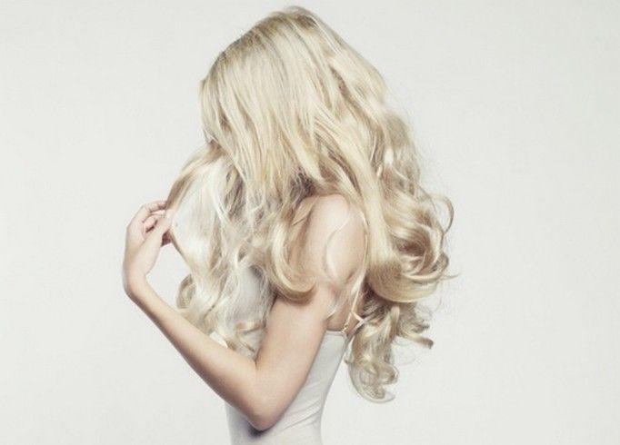 farbowanie włosów na blond
