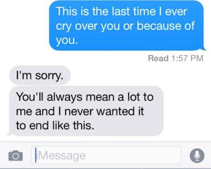 ostatni sms