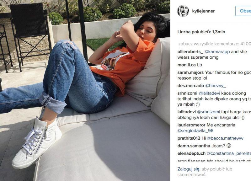 spodnie Kylie Jenner