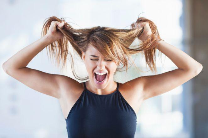 sposób na suche włosy
