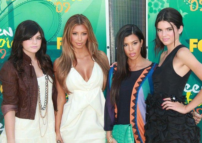 Kylie Jenner przed operacjami