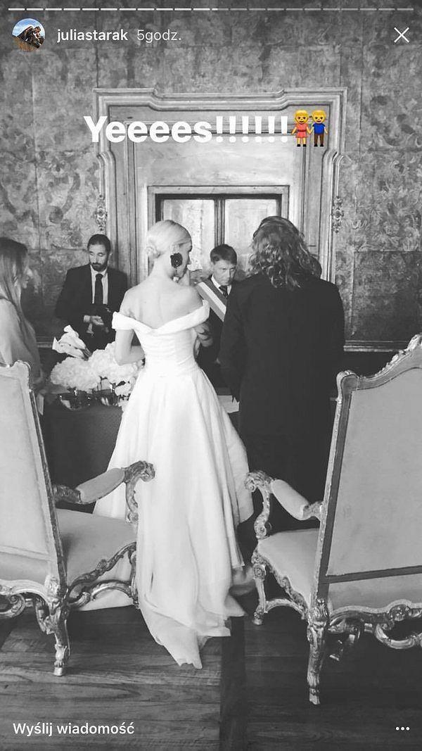ślub Agnieszki Szulim