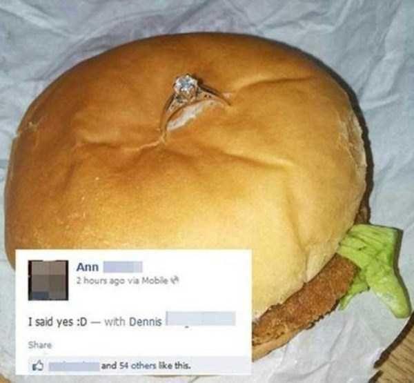 nieudane zaręczyny