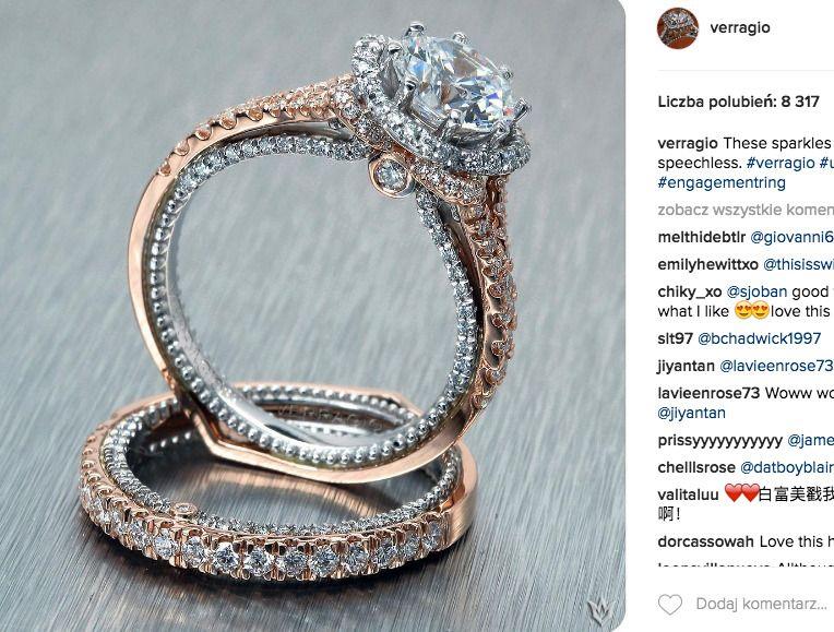 pierścionek Verragio