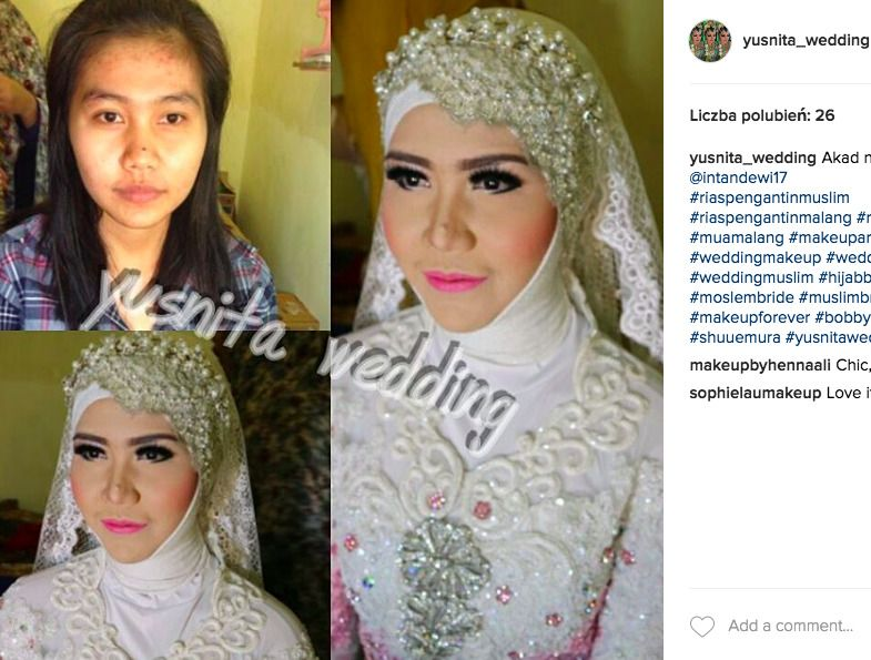 makijaż muzułmanek