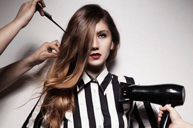 suszenie włosów
