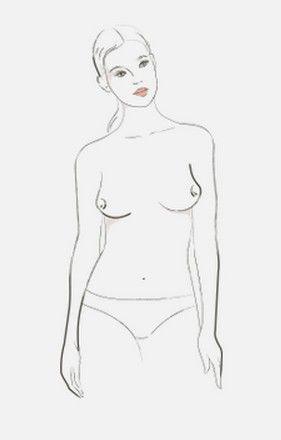 kobiecy biust