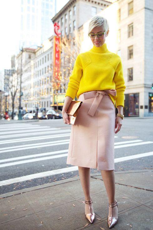 Żółto-różowe połączenia