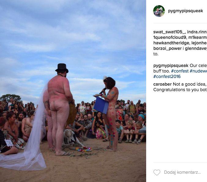 nagi ślub