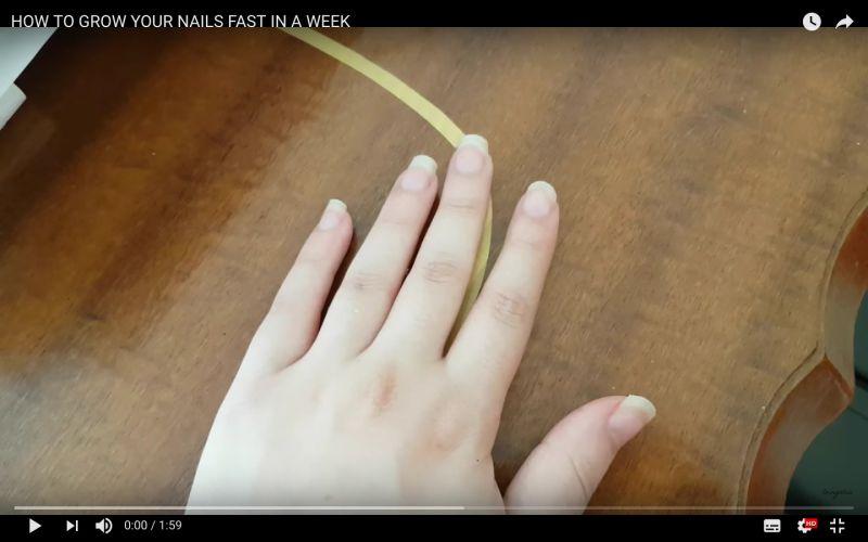 sposób na wzrost paznokci