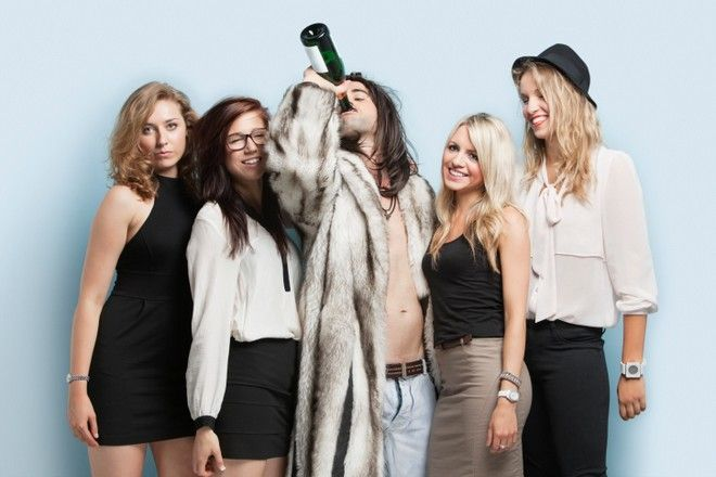 alkohol na imprezie