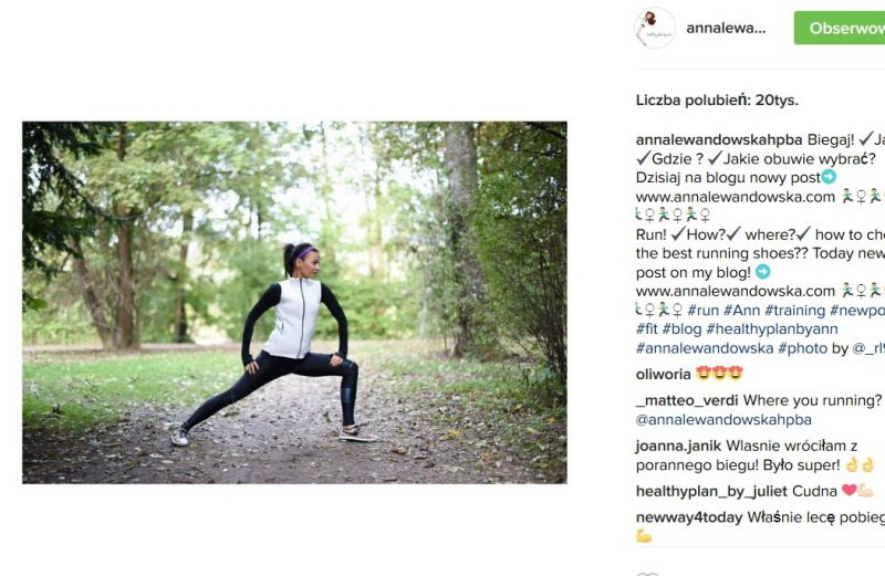 ciąża Anny Lewandowskiej