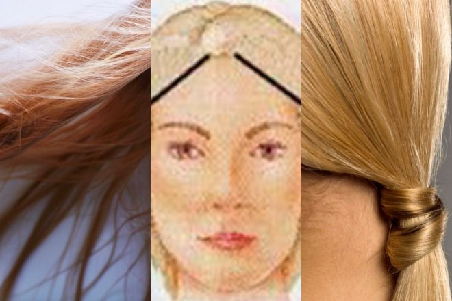 linia włosów