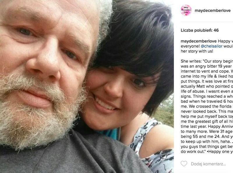 Córka umawia się ze starszym facetem