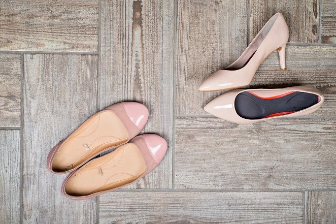 rozciąganie butów