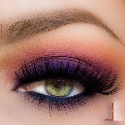 Makijaż ślubny Dla Zielonych Oczu Papilot