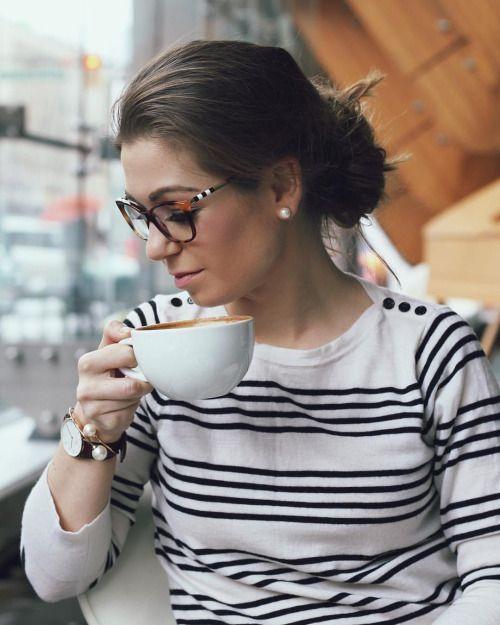 fryzury do okularów